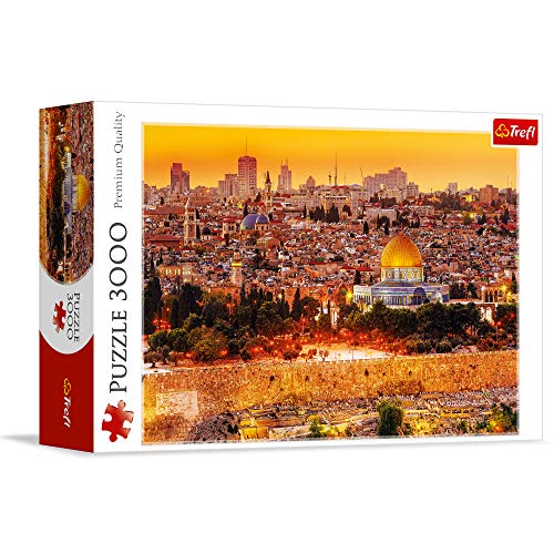 Trefl The Roofs of Jerusalem 3000 Piece Jigsaw Puzzle