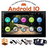 EINCAR 7 Inch Android 10.0 Car Stereo with GPS Navigation Double Din Car Radio Bluetooth Stereo Radio Receiver 2Din Headunit with Backup Camera Support WiFi Mirror Link for Android/iOS Phone USB Inpu