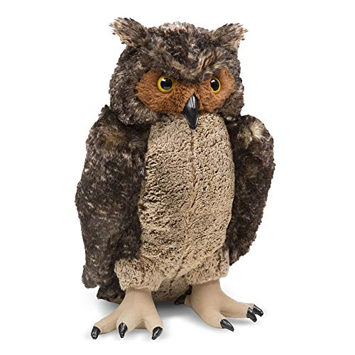 Melissa & Doug Owl - Plush | Soft Toy | Animal | All Ages | Gift for Boy or Girl