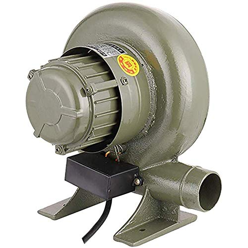 Inflator elektrische ventilator Pomp, Centrifugaal Air Blower, Ventilator, aanstekers, Manual Forge Iron Gear Blower, lichter Fan Opblaasbare elektrische pomp (Maat: 250W) XIUYU (Size : 100W)
