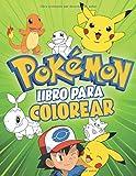 Pokemon Libro Para Colorear: Libros colorear niños - Pokemon