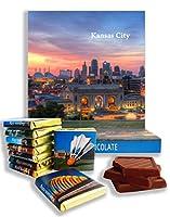 面白いカンザスシティの食品ギフト⌘「KANSAS」⌘カンザスの素敵なチョコレートセット! (パノラマ)