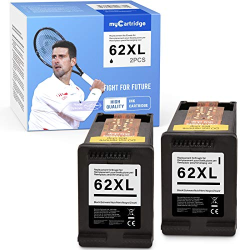 MyCartridge - Cartuchos de Tinta compatibles con HP 62 XL 62XL para HP OfficeJet 200 250 5740 5742 5744 Envy 5540 5544 5545 5547 5548 5640 5642 5644 5646 7640