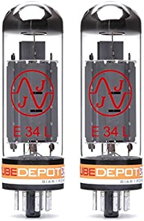 Pair of JJ E34L/EL34 Power Vacuum Tube