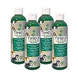Timely, shampoo per cani con aloe, per pelo liscio, confezione da 4 x 250 ml