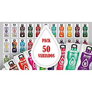 Bebidas Bolero Pack 50 Variados