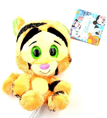 ToyWorld Glities Disney Tiger Winnie the Pooh - Peluche de peluche con purpurina y ojos grandes