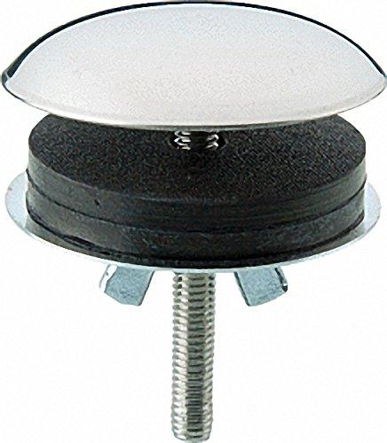 Deckrosette zum Abdecken von nicht benötigter Bohrungen in Spülen und Waschbecken- Niro poliert 42mm