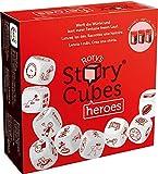 Asmodee - Rory's Story Cubes Heroes El Juego de Mesa para Contar Historias, Color, 8087