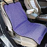 Tapis de protection pour voiture Tapis de protection antidérapant durable en tissu Oxford pour animaux de compagnie Protecteur de siège de voiture pour animaux durable - Slip-Resistant - Violet