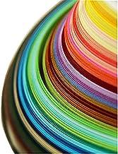 Szaerfa Mini 260 Stripes 5mm Width Quilling Paper Mixed Color Origami Paper DIY Craft Decor