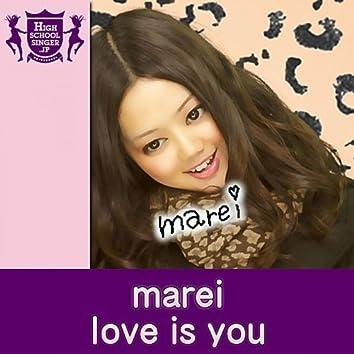 Love is you - Single