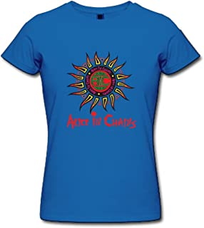 Jiaso Women's Alice in Chains Logo Hot Topic T-Shirt