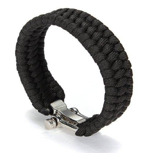 AJOYCN Survival Bracelet Camping Armband Survival Paracord Armband für Outdoor-Aktivitäten