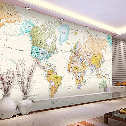 Fondo De Pantalla De La Foto Mapa Del Mundo 300x210 cm No...