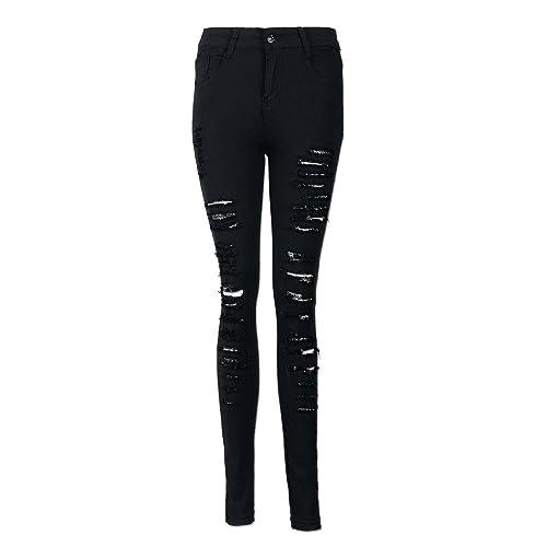 dd8a28bb1da94 JYC 2018 Women s Apparel High Waisted Skinny Jeans Pants Acid Wash Denim  Skinny Jeans Skinny Jeans
