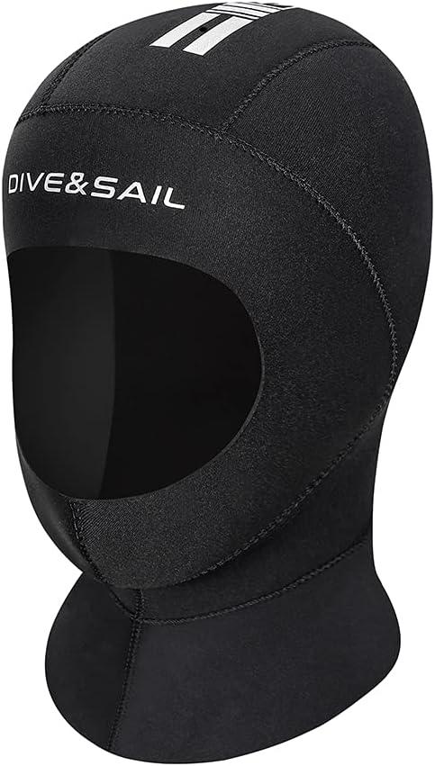 Wetsuit Hood Time sale Neoprene Scuba Head Cover 5M Surf Mail order cheap Dive Cap 3MM
