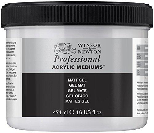 Winsor & Newton Medium - Gel acrilico opaco, 474 ml
