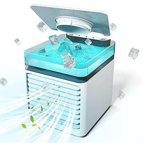 Cubo Climatizzatore Portatile - Funzione 4 In 1 Condizionatore Portatile Da Auto - Dispositivo Di Raffreddamento Personale Climatizzatore Camper - per Qualsiasi Stanza, Ufficio, Viaggio, Campeggio