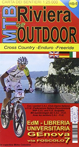 MTB Riviera dell'Outdoor 1 : 25 000: Mountainbike Cross Country Streckenkarte