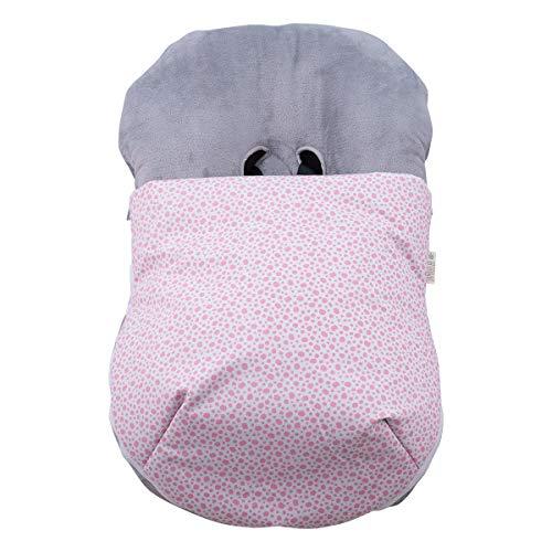 JANABEBE Copertina invernale per il bebè (Pink Apple, PILE)