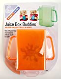 5-PACK Mommys Helper Juice Box Buddies Holder for Juice Bags and Boxes, Colors May Vary
