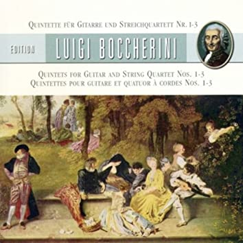 Boccherini, L.: Guitar Quintets Nos. 1-3