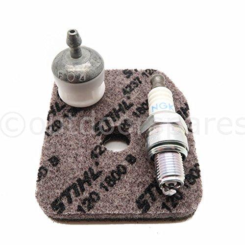 Stihl–hedgetrimmer cartucho de filtro de aire, combustible Plug Kit de servicio hs81t, hs81r, hs86t, hs86rc-e, hs86tc-e