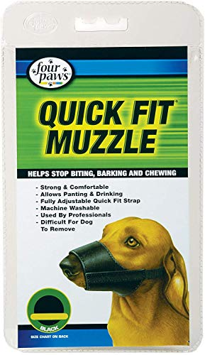 Four Paws Quick Fit Dog Muzzle, Size 1