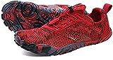 zapatillas deportivas mujer rojo