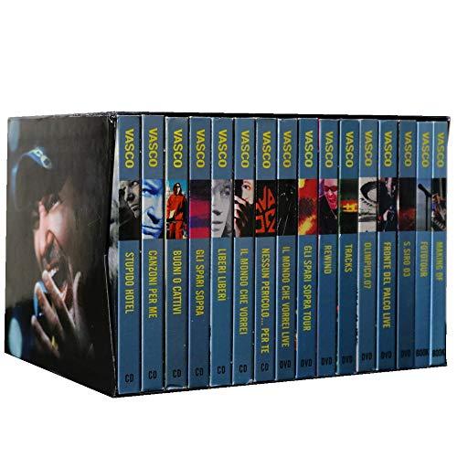 Vasco - Cofanetto 7 DVD - 7 CD - 2 Libri - Vasco Rossi