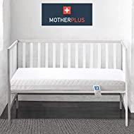 MotherPlus™ Waterproof Eco Baby Toddler Cot Bed Mattress Quilted Breathable Extra Thick 140 x 70 x 1...