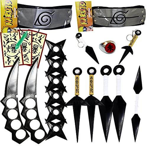 Kit Cosplay Naruto Akatsuki