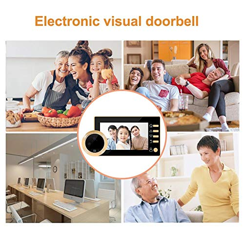 Cineman video deurbel, monitorset met video deurbel voor telefoon en extra systeem