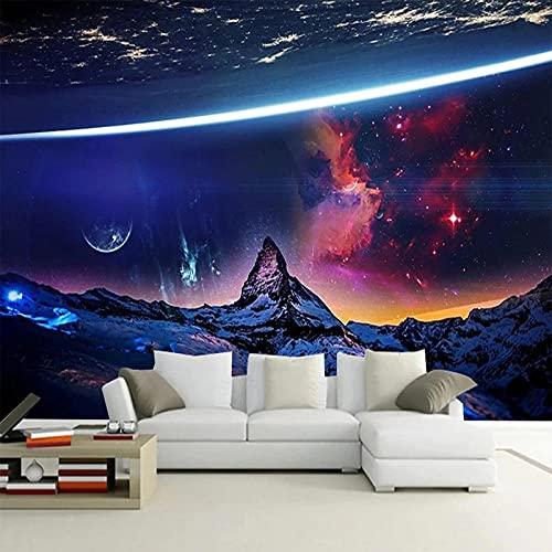 Foto Mural Universo Cielo Estrellado Póster 3D Dormitorio Moderno Sala De Estar Decoración De Pared Pintura Papel Tapiz Revestimiento De Paredes