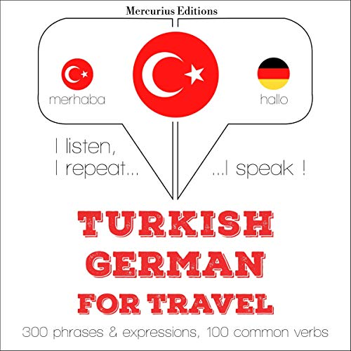 Turkish - German. For travel cover art