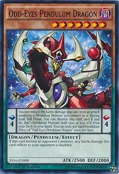 YU-GI-OH! - Odd-Eyes Pendulum Dragon  YS16-EN008  - Starter Deck  Yuya - 1st Edition - Common