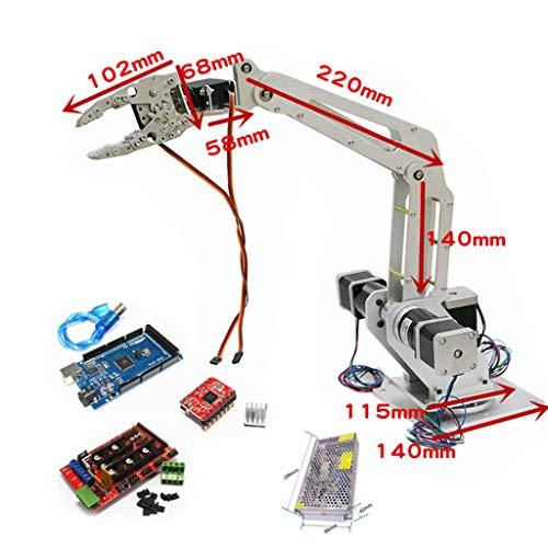 FLAMEER Kits de Brazo Robótico Impresoras Servo 3D Motor Agarrador ...