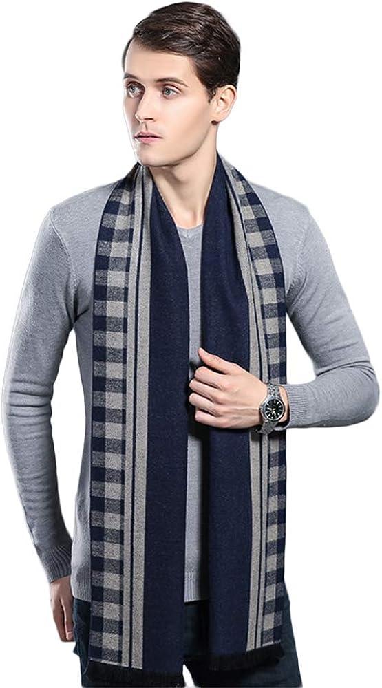 Fashion Mens Scarf Winter Sales Cashmere Scarves Long Wholesale Plain Fo