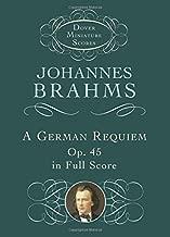 A German Requiem, Op. 45, in Full Score (Dover Miniature Music Scores)