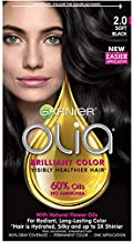 Garnier Olia Oil Powered Permanent Color 2.0 Soft Black 1 Each (Pack of 3)