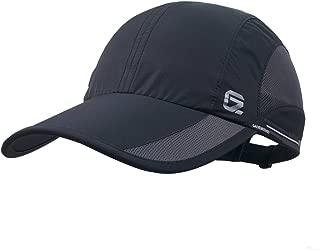 GADIEMKENSD Quick Dry Sports Hat Lightweight Breathable Unstructured Soft Run Cap Unisex