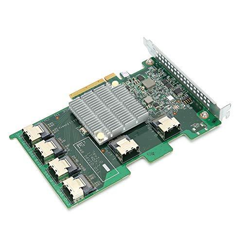 SATA-Erweiterungskarte 16 Port SAS Expander Expander-Karte 8 Port bis 16 Port 6 GB SAS/SATA-Erweiterungskarte für Lenovo 03X3834 11407-01