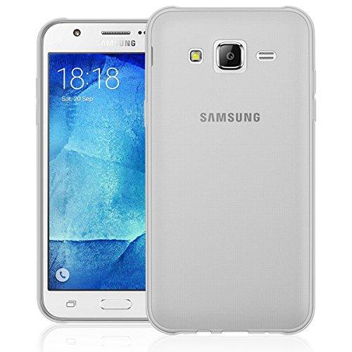 NEW'C Funda para Samsung Galaxy J5 2015 SM-J500, Anti- Choques y Anti- Arañazos, Silicona TPU, HD Clara
