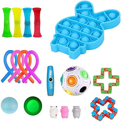 Loaged Fidget Toys Set Fidget 18 Pack Stress Relief Toy Set Adult Decompression and Anti Anxiety product image