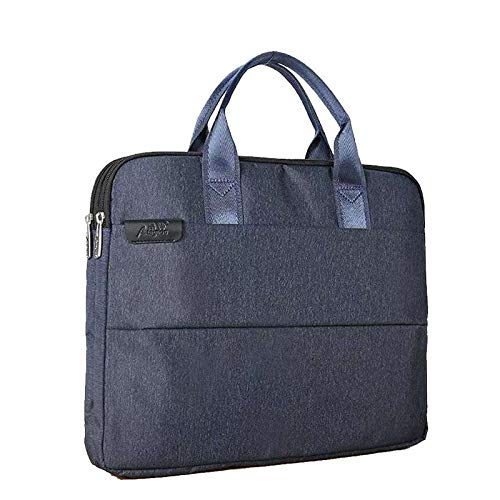 13.5-15.6 inch Blue Laptop Bag, Travel Briefcase with Organizer, Water Resisatant Business Messenger Briefcases for Men and Women Fits 15.6 or below Inch Laptop, Computer, Tablet