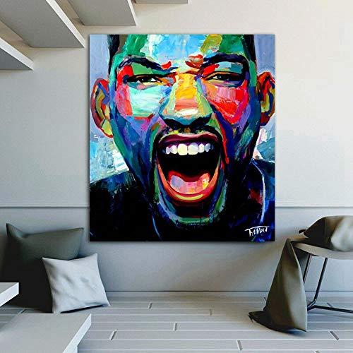 wZUN Carteles e Impresiones Gratis Pintura en Lienzo Cuadros de Arte de Pared para la decoración del hogar de la Sala de Estar 50x55cm