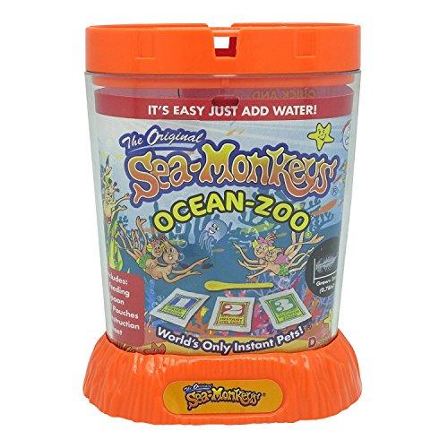 Sea Monkeys Bandai Ocean Zoo – EIN Klassiker, um eigene liebenswerte Wassertierchen zu kreieren