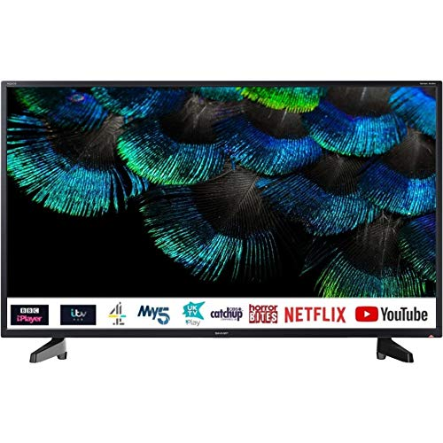 40″ Ultra HD 4K Smart TV with Freeveiw HD Play, USB media player, PVR, Netflix and Prime apps