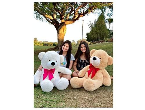 Urso Teddy Bear Grande Gigante Pelúcia Macio 110cm Nacional